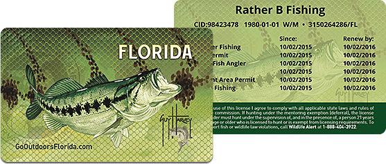 getting a fishing license | south florida fishing and hunting